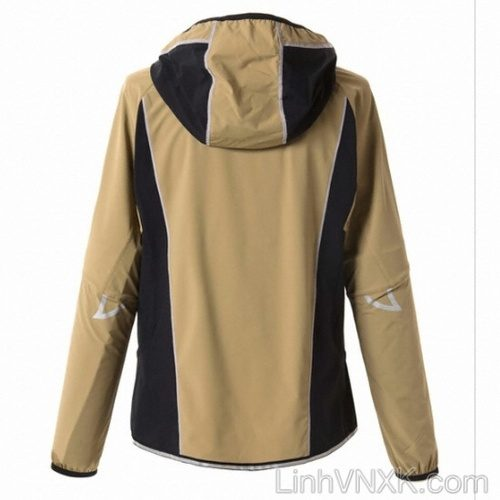 Áo khoác gió chống nước nam cao cấp hàng hiệu màu kaki
