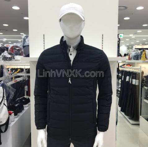 Áo khoác phao lông vũ xuất Hàn JDX xuất Hàn đen