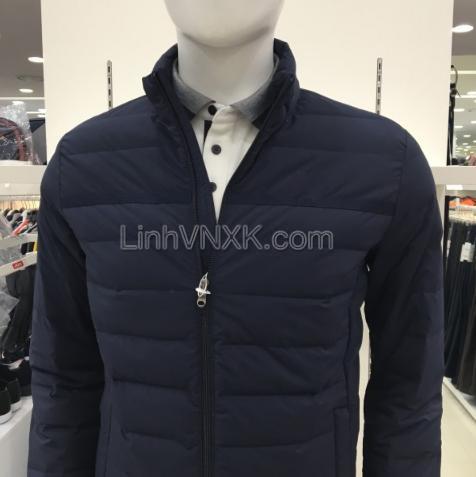 Áo khoác phao lông vũ xuất Hàn JDX xuất Hàn xanh navy