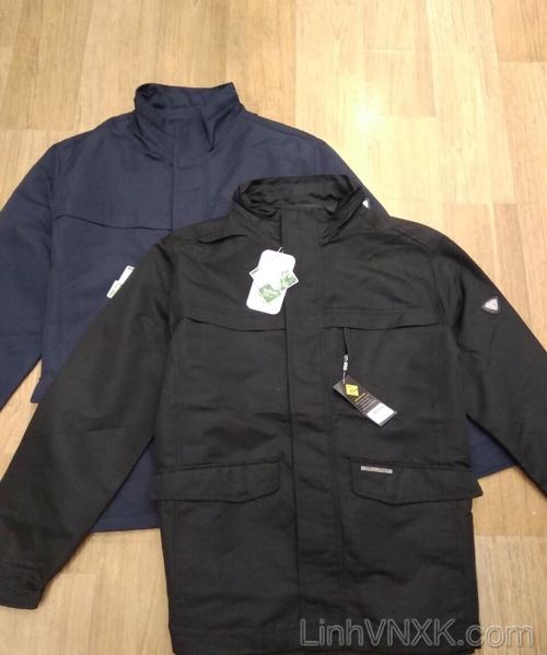 Áo khoác kaki nam cao cấp hàng hiệu Vuarnet màu Đen (AKM182)