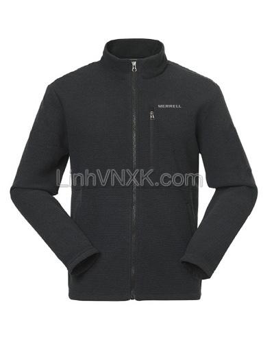 Áo khoác nỉ nam lông cừu xuất Hàn Merrell màu đen