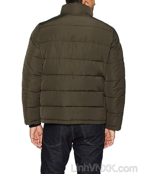 Áo khoác phao nam xuất khẩu CK màu rêu