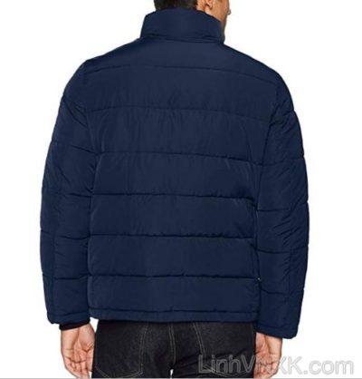 Áo khoác phao nam xuất khẩu CK màu xanh navy