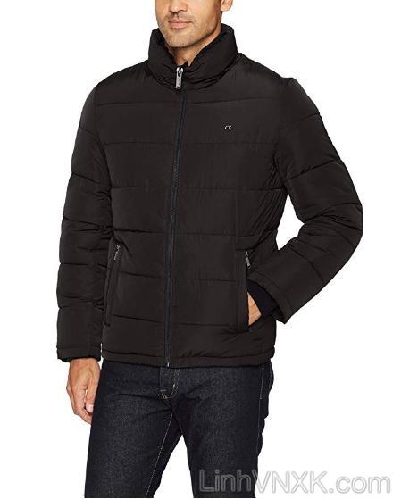 Áo khoác phao nam xuất khẩu CK màu đen