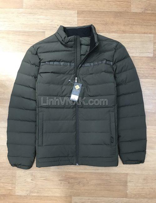 Áo khoác phao lông vũ xuất Hàn JDX xuất Hàn màu xanh rêu