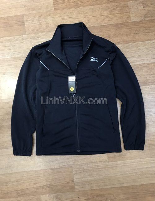 Áo khoác thể thao nam xuất khẩu Mizuno xanh navy