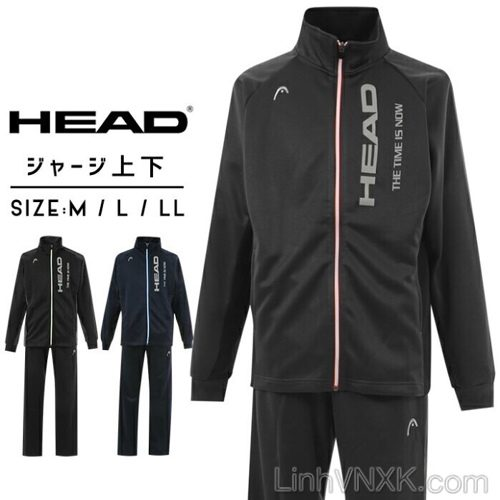 Bộ quần áo nỉ nam Nhật Bản cao cấp HEAD