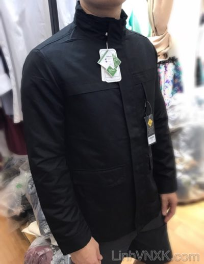 Áo khoác kaki nam Hàn quốc Vuarnet màu đen