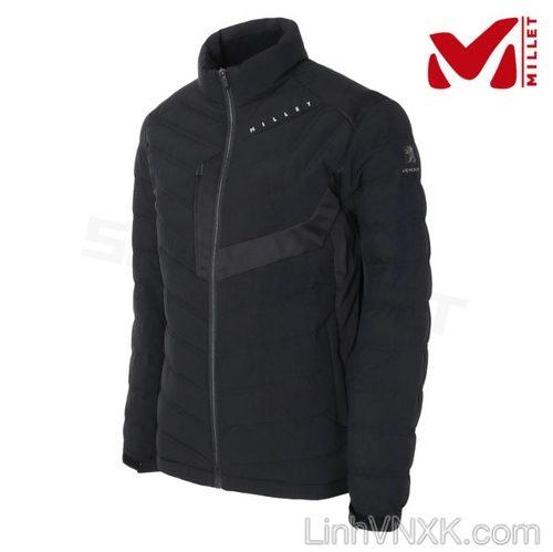 Áo khoác lông vũ thể thao nam Millet màu đen