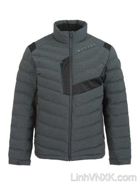 Áo khoác lông vũ thể thao nam Millet màu xám
