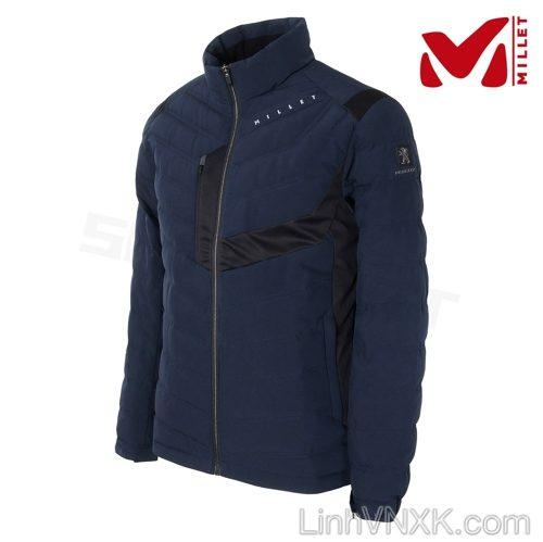 Áo khoác lông vũ thể thao nam Millet xanh navy