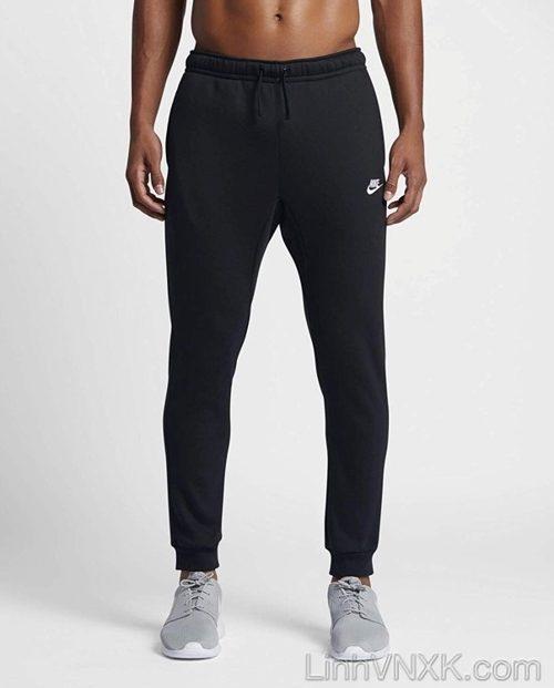 Quần jogger nỉ Nike màu đen
