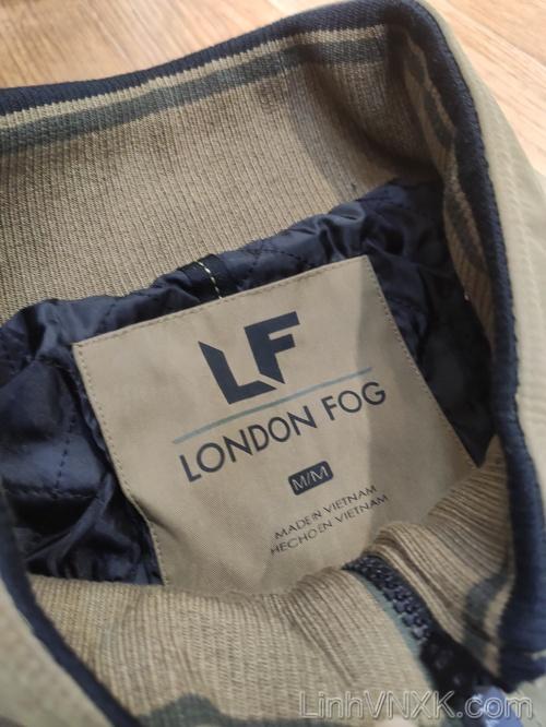 Áo khoác kaki nam chống nước London Fog xuất khẩu