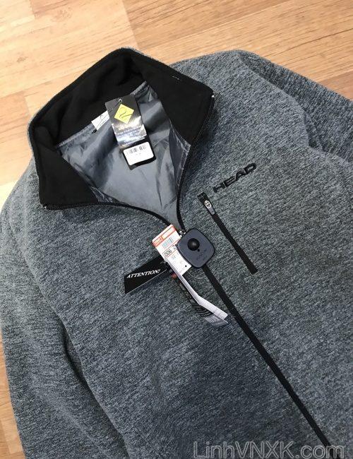 Áo khoác golf giữ nhiệt Head xuất Nhật màu ghi
