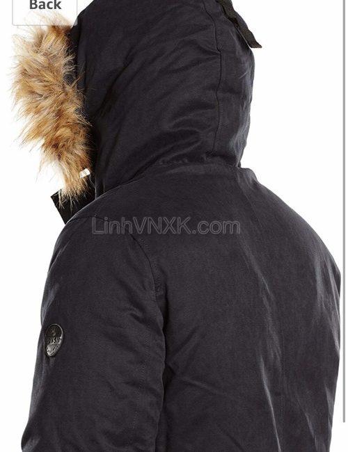Áo khoác Parka đi tuyết Esprit màu đen