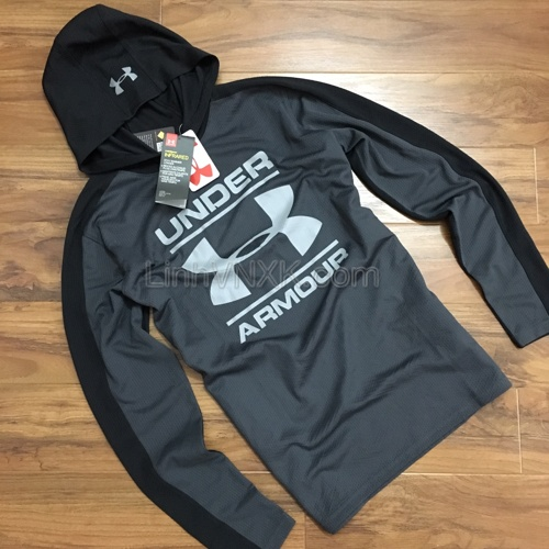 Hoodie Under Armour màu ghi