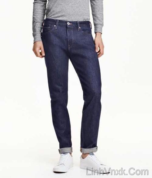 quần jean lee xanh xước