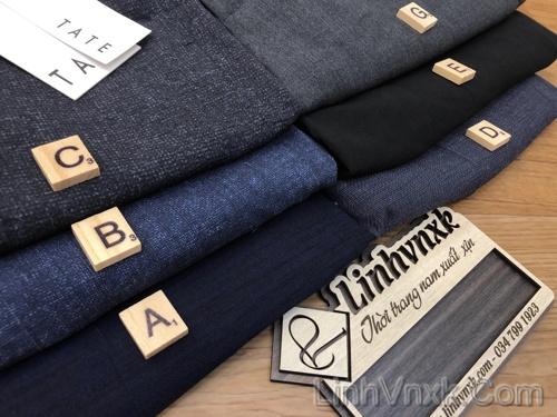 Quần short nam vải tây xuất khẩu