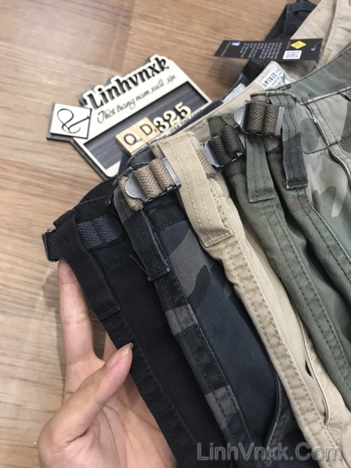Quần kaki túi hộp xuất khẩu Avirex nhật bản