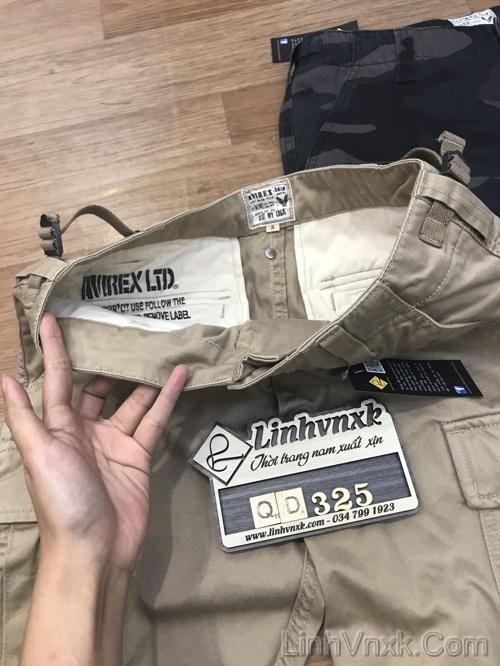 Quần kaki túi hộp xuất khẩu Avirex