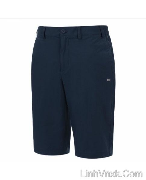 Quần short golf WyndHam xuất khẩu xanh navy
