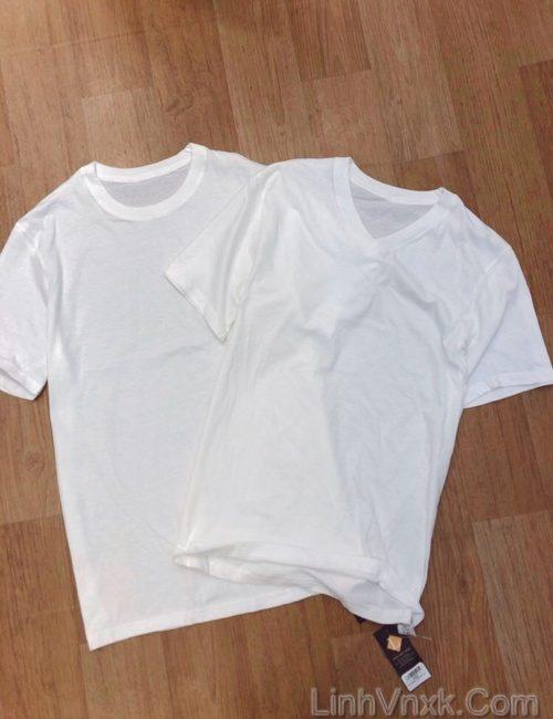 Áo lót nam cộc tay trắng xuất Nhật