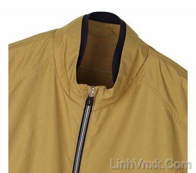Áo khoác gió Fantom xuất Hàn màu vàng