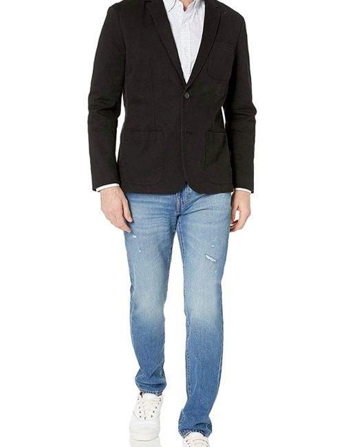 Áo blaze kaki nam cao cấp màu đen