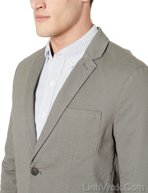 Áo blaze kaki nam cao cấp màu ghi