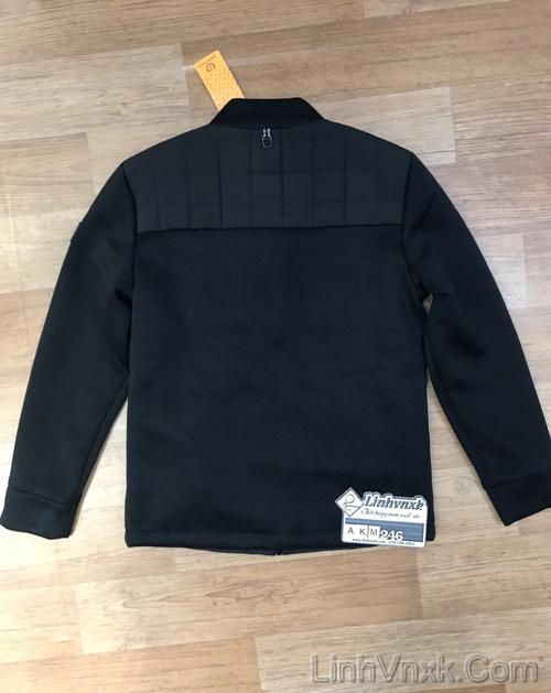 Áo khoac chần bông tay len xuất Hàn