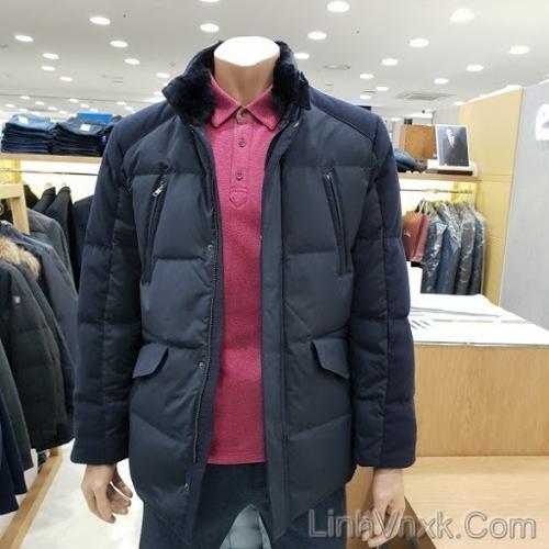 Áo khoác lông vũ Pierre Cardin 4 túi