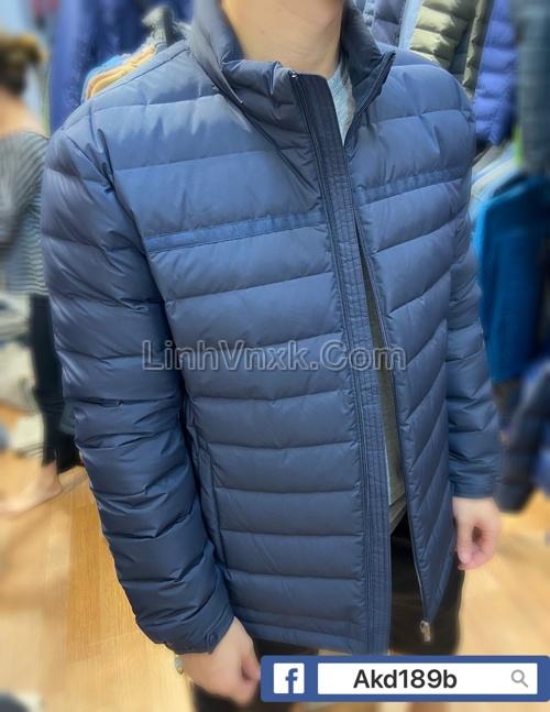 Áo khoác lông vũ JDX xanh navy