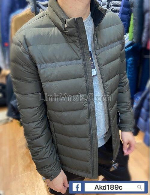 Áo khoác lông vũ JDX màu rêu