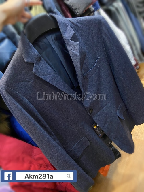 Áo blaze nam xuất Nhật xanh navy xước