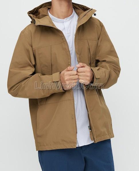 Áo khoác kaki xuất Nhật chống nước màu be