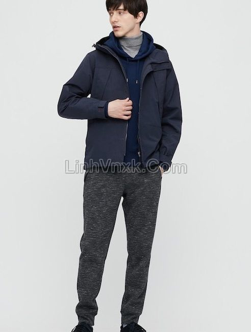 Áo khoác kaki xuất Nhật chống nước màu đen