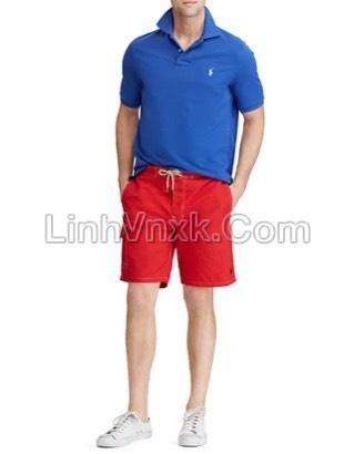 Quần bơi nam Ralph Lauren màu đỏ