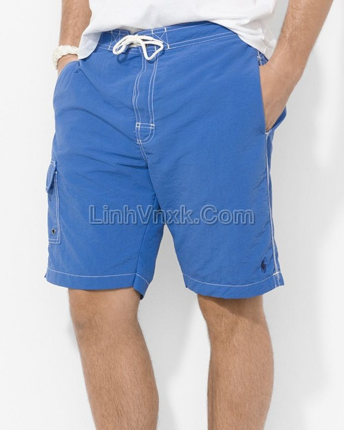 Quần bơi nam Ralph Lauren xanh blue
