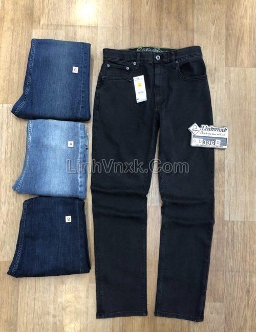 Quần jean đen nam xuất khẩu