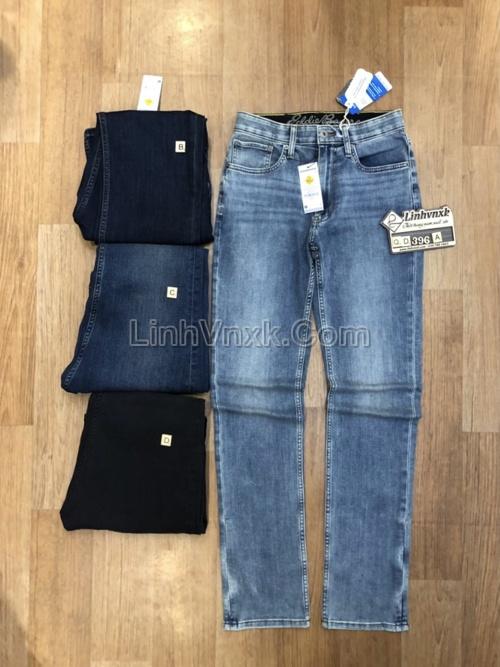 Quần jean xanh sáng slimfit xuất khẩu