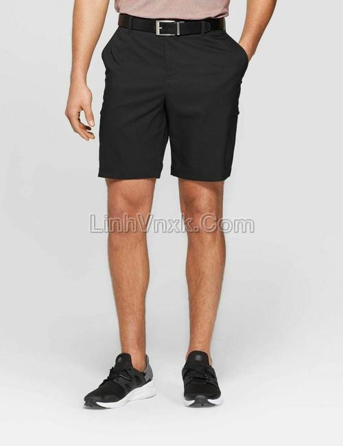 Quần short golf Champion màu đen
