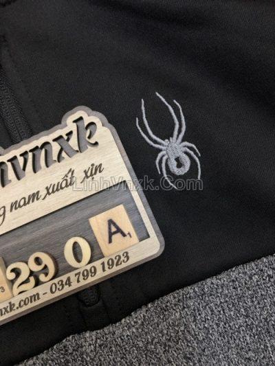 Áo khoác Hoodie Spyder xuất khẩu màu ghi