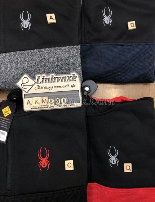 Áo khoác Hoodie Spyder xuất khẩu các màu