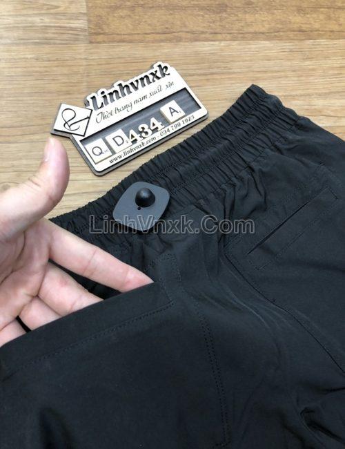 Quần jogger gió DKNY màu đen